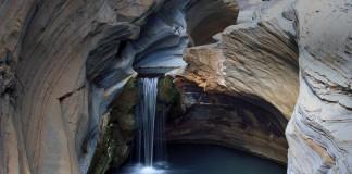 waterfall in Hamersley Gorge