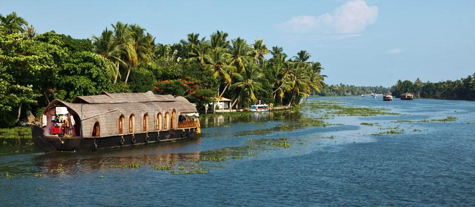 Kottayam backwaters india