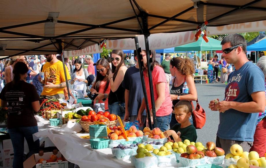 Allentown farmers market PA