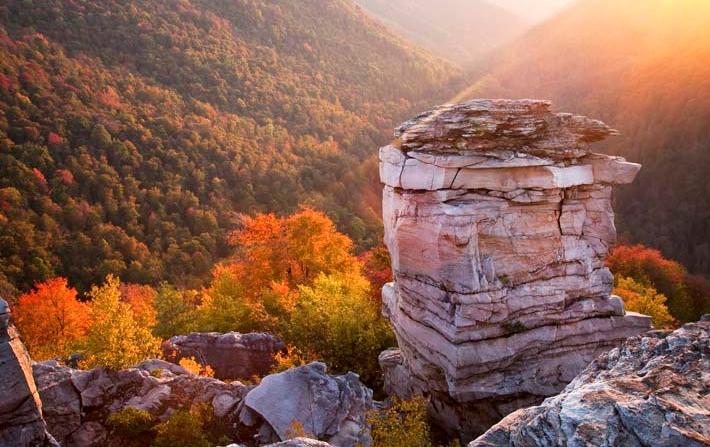 Blackwater Falls State Park Virginia