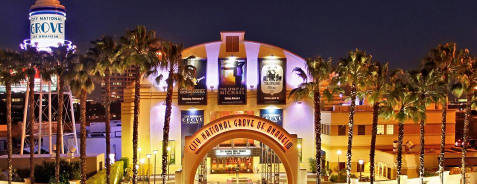 The Grove Anaheim CA