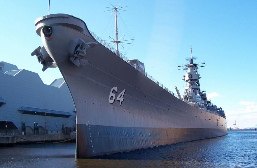 USS Wisconsin Norfolk